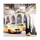 Canvas taxi New York IV