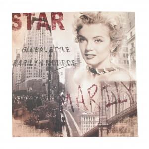 Canvas dromende Marilyn Monroe