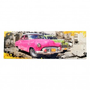 Canvas oldtimer rose