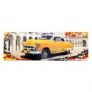 Canvas gele oldtimer