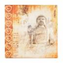 Canvas dikbuik Boeddha