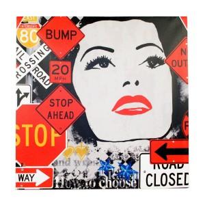 Canvas Pop Art Bump