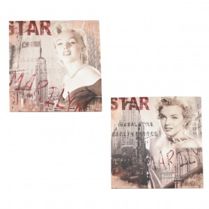 Assortiment Canvas Marilyn Monroe