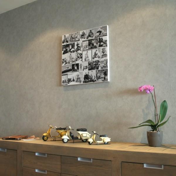 canvas retro fotocollage stijlvolle amp betaalbare