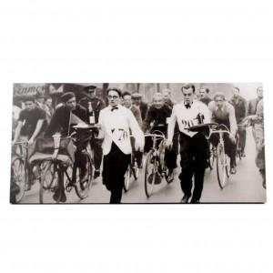 Canvas obers in wielerwedstrijd