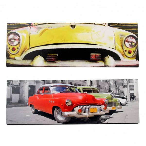 canvas cuba auto stijlvolle amp betaalbare wanddecoratie