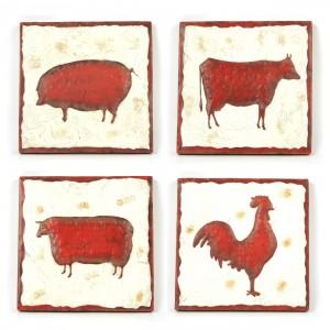 Wandtegels dieren
